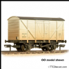 FARISH 373-725D BR 10T Insulated Van BR White - Weathered * PRE ORDER £ 17.96 *
